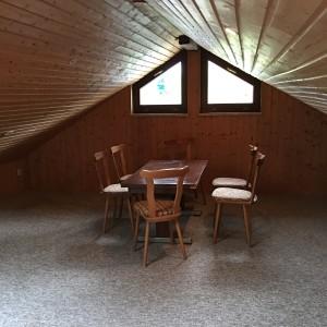 Fotogalerie 2016. Übernachtung auf dem Dachboden