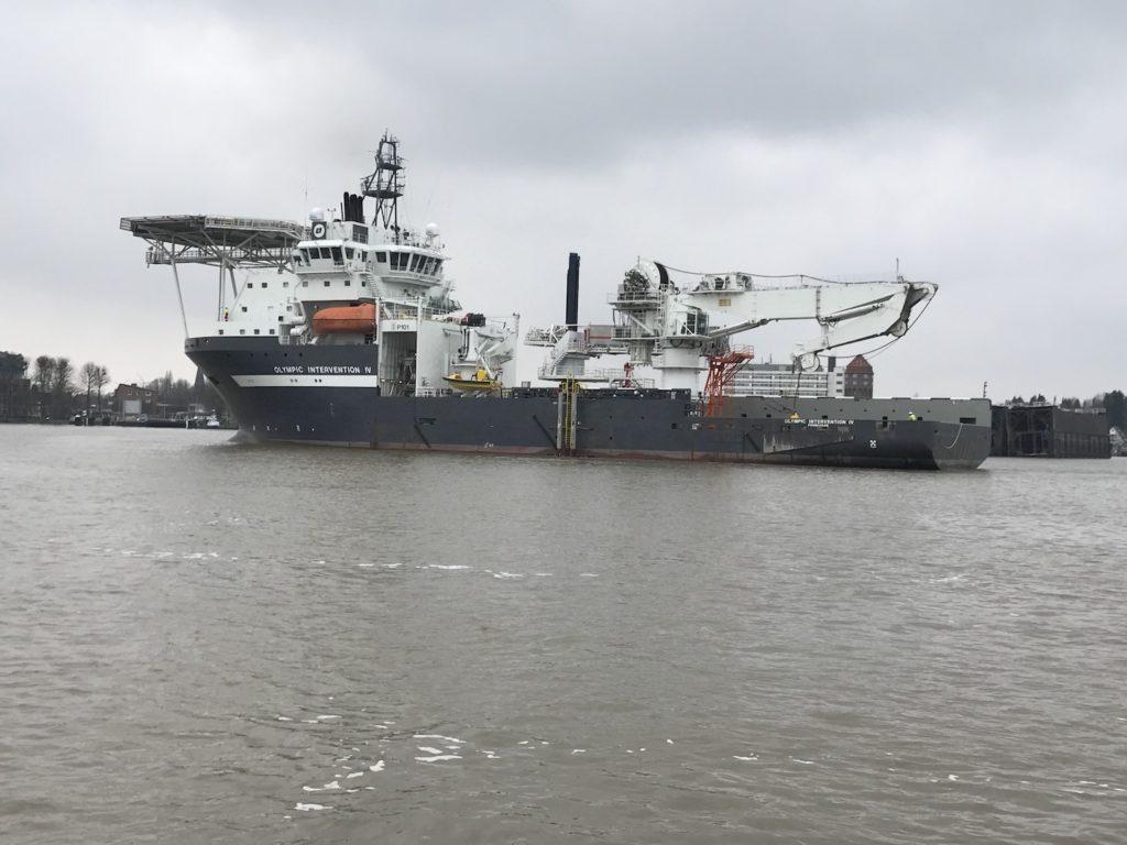 Versorgungsschiff Versorgungsschiff Olympic Intervention 4