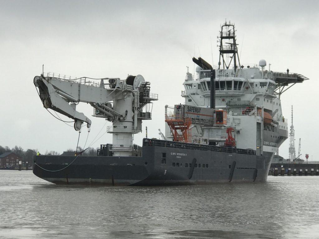 Versorgungsschiff Olympic Intervention 4